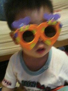 メガネがお気に入り!